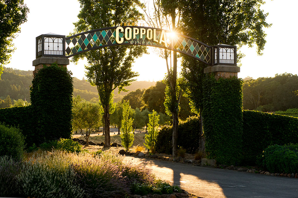 Francis Ford Coppola Winery Alexander Valley California