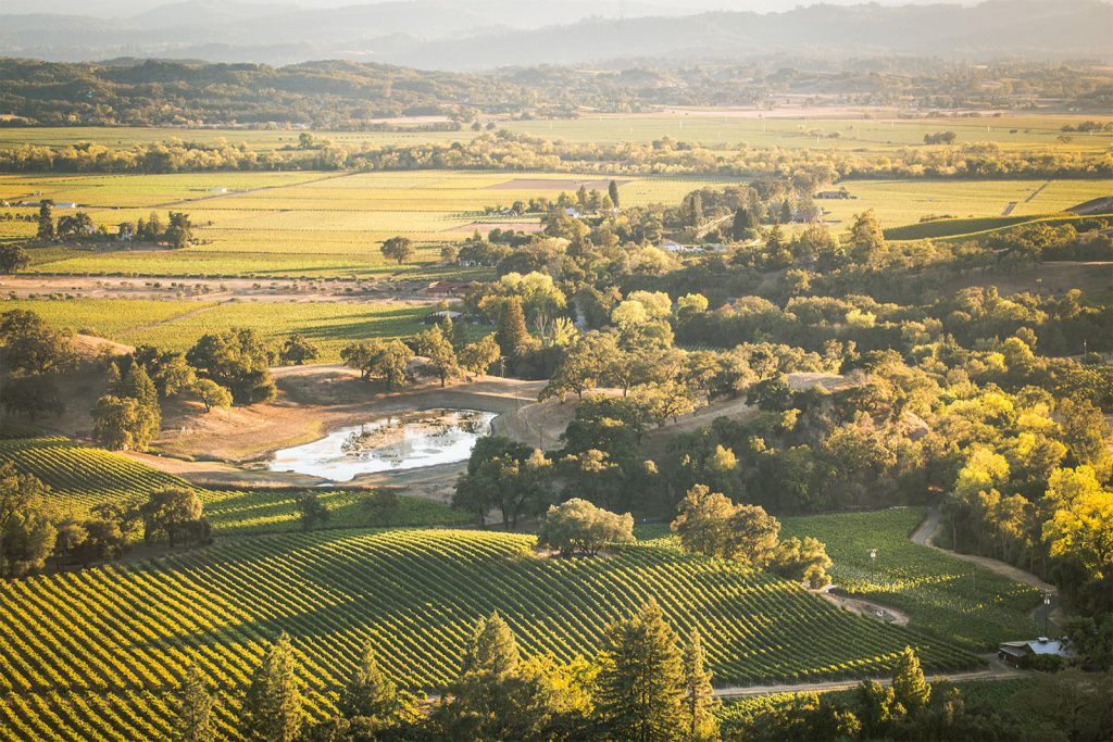Garden Creek Ranch Vineyards & Winery Alexander Valley California