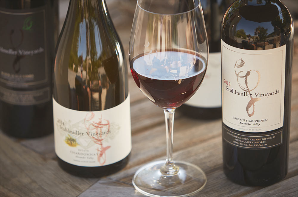 Stuhlmuller Winery Wine Tasting Healdsburg